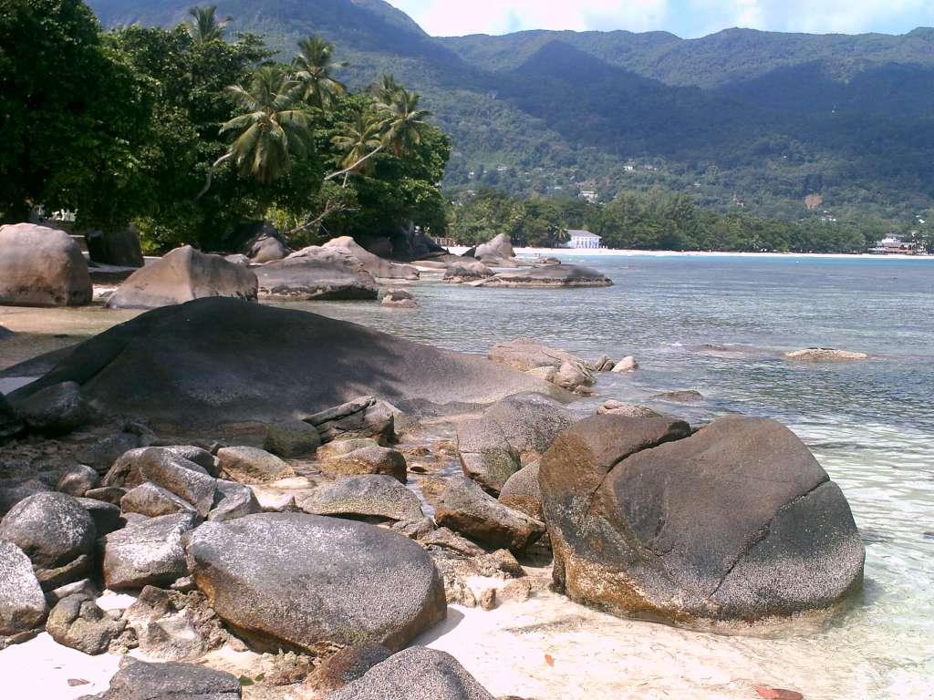Coole Steine und Meer