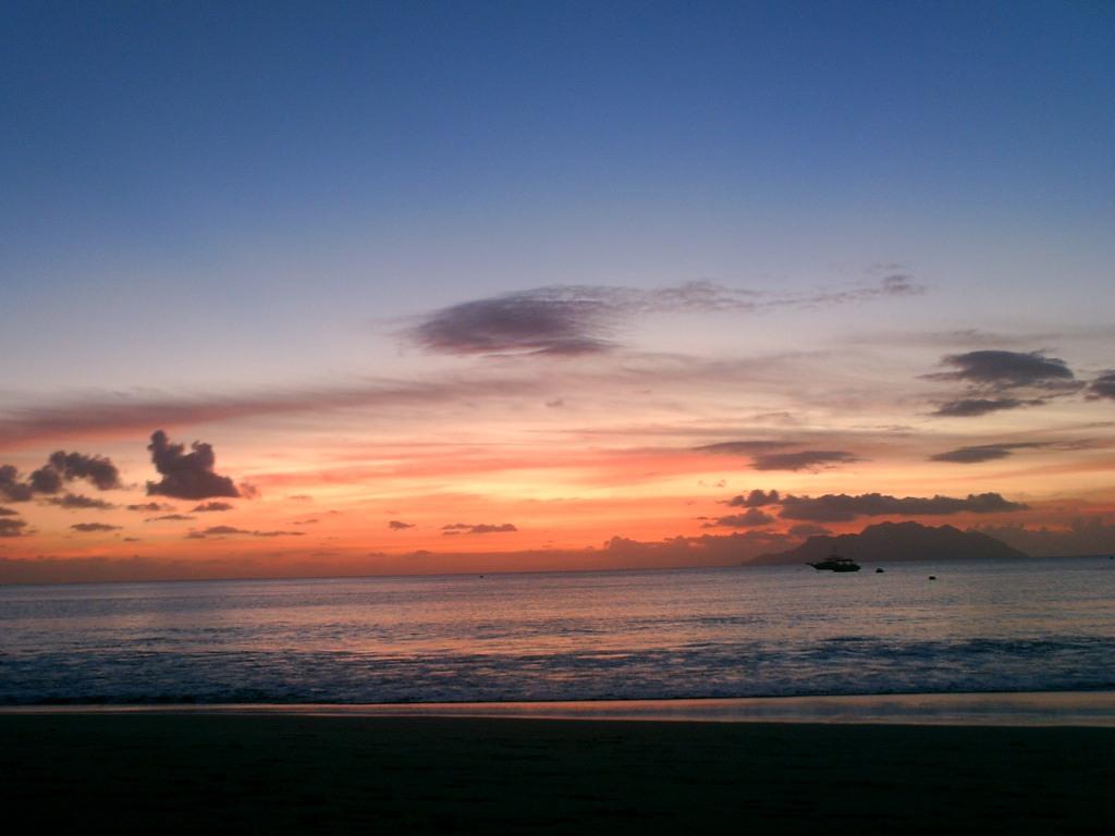 Sonne auf den Seychellen
