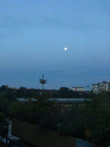 Mondfinsternis in Langenhagen